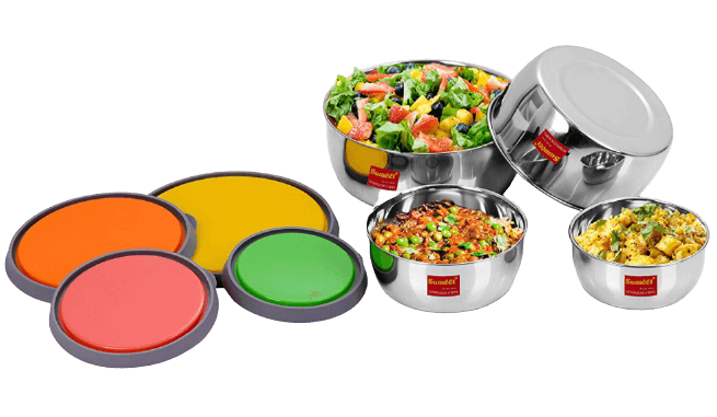 Sumeet Stainless Steel Container Set