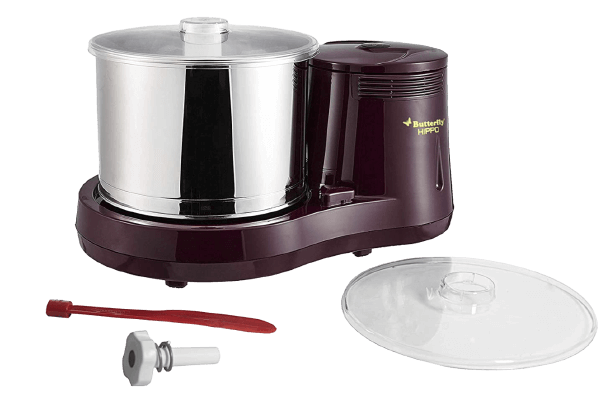 Butterfly Hippo Table Top Wet Grinder, 2 Litre