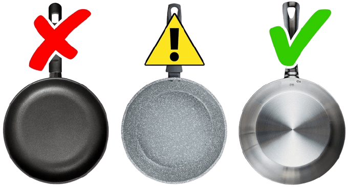 Cookware Or Utensils That You Should Avoid For Cooking