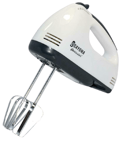 MOHAK High Speed Hand Mixer with 4 Pieces Stainless Blender
