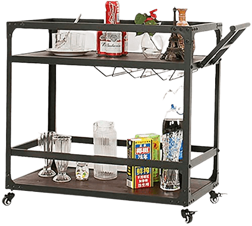 Indian Decor 45939 serving trolley