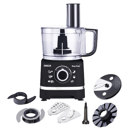 Inalsa 550W Food Processor Bowl With Mixer Grinder With 2 Jars