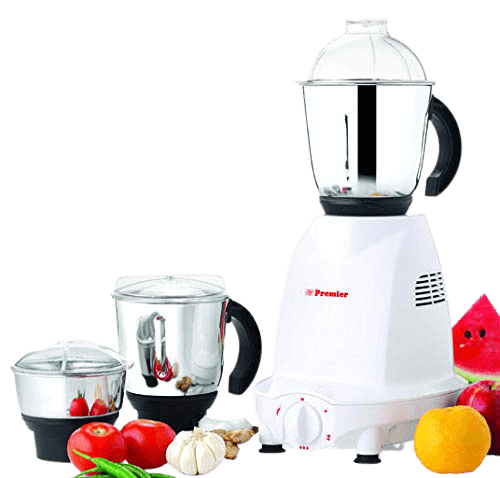 Premier Super Choice Mixer Grinder - powerful 550watts with 3 Stainless Steel Jars